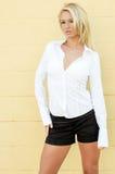 Blonde Fashion Model Royalty Free Stock Image