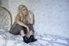 Blonde Female Stock Photography