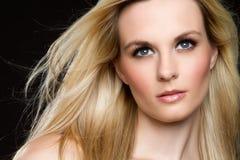 Blonde Frau Lizenzfreies Stockfoto