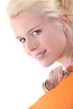 Blonde Frau Lizenzfreies Stockbild