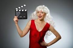 Blonde Frau Stockbilder