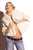 Blonde Frau der Schönheit Lizenzfreie Stockbilder