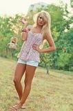 Blonde Frauen Lizenzfreie Stockfotos