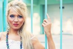 Blonde Frauen Lizenzfreies Stockfoto