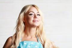 Blonde Frauenweinlese Stockbilder