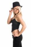 blonde gangster Στοκ εικόνα με δικαίωμα ελεύθερης χρήσης