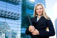 Blonde Geschäftsfrau Stockbilder