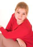 Blonde Geschäftsfrau Lizenzfreies Stockbild