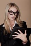 Blonde Geschäftsfrau. Lizenzfreie Stockbilder
