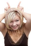 Blonde girl Stock Photography