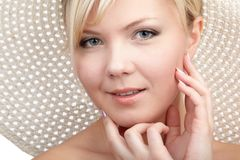 Blonde girl Royalty Free Stock Photography