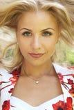 Blonde girl Royalty Free Stock Photos