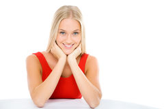 Blonde girl Royalty Free Stock Image