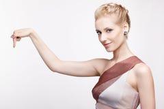 Blonde girl Stock Photography