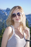 Blonde girl portrait Royalty Free Stock Photo