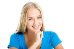 Blonde girl Royalty Free Stock Images