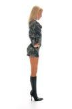 Blonde girl posing Stock Photo