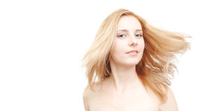 Blonde grace 2 Royalty Free Stock Photo