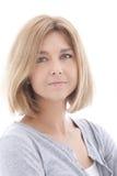 Blonde hübsche Frau Lizenzfreie Stockfotografie