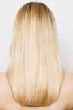 Blonde Haare der Schönheit Lizenzfreies Stockfoto