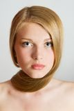 Blonde Hair Girl Stock Image