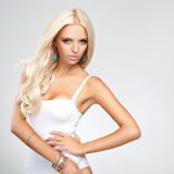 Blonde Hair. High quality image. Stock Photography