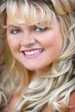 Blonde headshot Stock Images