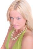 Blonde headshot portrait Stock Photos