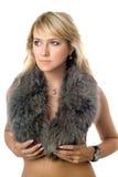 Blonde hermoso imagen de archivo libre de regalías
