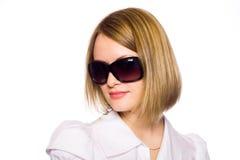 blonde hermoso Foto de archivo libre de regalías