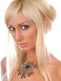 Blonde hermoso Imágenes de archivo libres de regalías