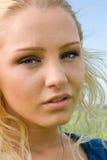 Blonde hermoso Fotografía de archivo libre de regalías