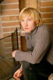 Blonde jonge mens Royalty-vrije Stock Afbeelding