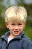 Blonde jongen Stock Foto's