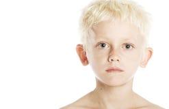 Blonde Jongen Stock Fotografie