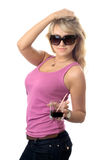 Blonde joven foto de archivo