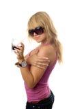 Blonde joven imagenes de archivo