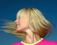 Blonde joven Imagen de archivo libre de regalías