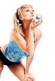Blonde joven hermoso fotos de archivo libres de regalías
