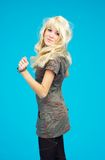 Blonde Jugendliche Stockfotos