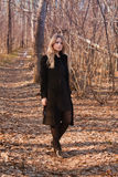 Blonde junge Frau Stockfoto