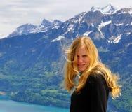 Blonde junge Frau Lizenzfreie Stockbilder