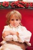 Blonde Jungenaufstellung Lizenzfreies Stockbild