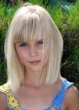 Blonde Katya. Summer in Krasnodar territory Stock Photography