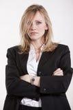 Blonde kaukasische Frau der attraktiven Zwanzigerjahre Lizenzfreie Stockbilder