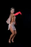 Blonde latin dancer Royalty Free Stock Photos