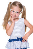 Blonde little girl Royalty Free Stock Images
