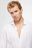 Blonde man Royalty Free Stock Images