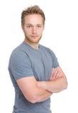 Blonde man Royalty Free Stock Photo