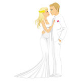 Blonde Married Couple Royalty Free Stock Image